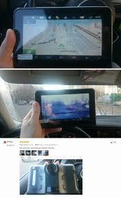 7 inch car gps navigator android car dvr radar detector 16g free