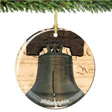 philadelphia liberty bell ornament