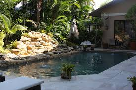 backyards and pools