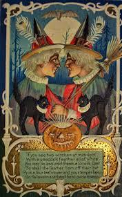 1100 best vintage halloween postcards images on pinterest