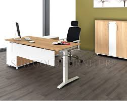Simple Office Table And Chair Furniture Office Cream Chair And Small White Office Desk On