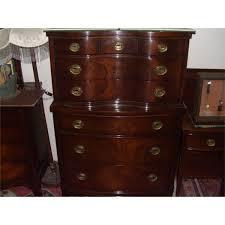 Mahogany Bedroom Furniture 5 Piece Serpentine Mahogany Drexel Bedroom Set Ssr