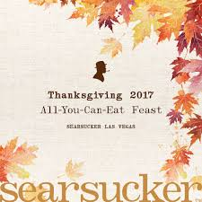 enjoy a seriously thanksgiving in las vegas searsucker