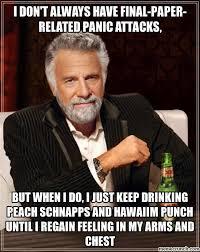 Panic Attack Meme - paper panic attack