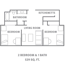 Home Plans With A Courtyard And Swimming Pool In The Center Housing And Residence Life Utsa