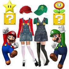 Halloween Costumes Luigi Mario Luigi Halloween Costumes Mario U0026 Luigi Halloween