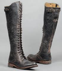 tall biker boots della black lux tall boots women bed stu covet pinterest