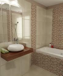 beige badezimmer uncategorized kühles badezimmer in braun mosaik mit stunning
