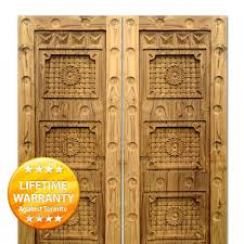 teak doors carving designs 4101