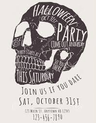 scary halloween party invitations 31 invitation flyer templates