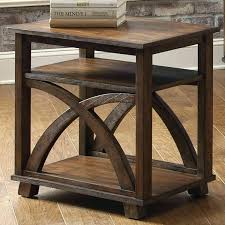 end table with shelves side table side tables with shelves table shelf side tables with