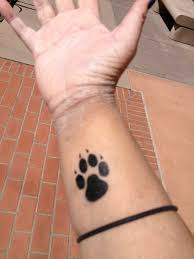 wolf paw temp tattoo by mikuchuchan on deviantart