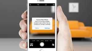 iphone cannot take photo iphone storage full 13 killer fix hacks