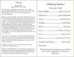 funeral programs exles 12 funeral program exlesagenda template sle agenda