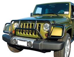 brush guard jeep realwheels jeep wrangler black powder coat enforcer grille guard