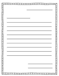 templates for handwriting writing template free printable kindergarten writing paper template