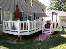 average cost of vinyl porch railing youtube