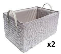 grey laundry hamper neutral grey toys kitchen cupboard storage basket handle hamper