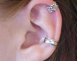 conch piercing cuff conch ring etsy