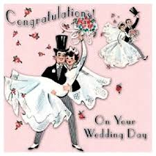 wedding day congratulations cloth ears congratulations wedding day card