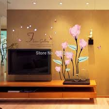 aliexpress com buy flower gallery wall stickers romantic living