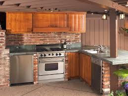How To Build Outdoor Kitchen by Stainless Outdoor Kitchen Cabinets Lovely Cabinets Stunning Ideas