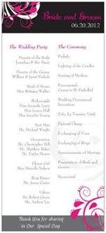 vista print wedding programs yay wedding programs are done i vistaprint thanks hayley