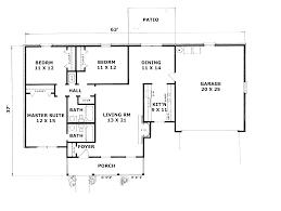 split bedroom ranch floor plans split floorn ranch homens level nz australia house style plans