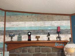 diy plank wall a great pallet project