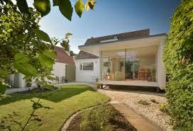 interior design beautiful backyard garden with glass wall