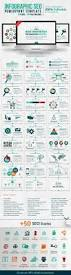 seo report template infographic seo powerpoint template on behance