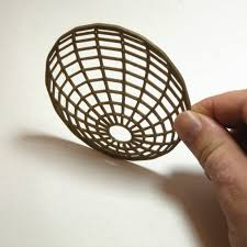 sphere illusion coasters u2013 meshcloud u2013 3d printed designer home decor