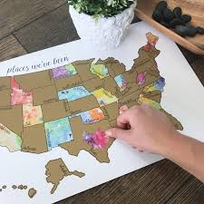 States Ive Been To Map by Been There Scratched That United States Of America Usa Us