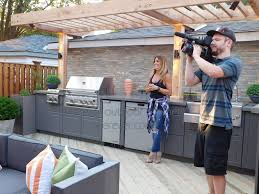 building outdoor kitchen cabinets decorating to make bbq more comfortable and cool use outdoor