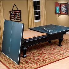 elegant pool table with ping pong unique pool table ideas