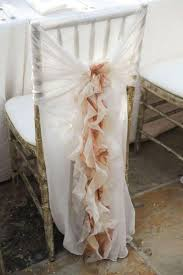 Ivory Chair Shop Chair Covers Online Ivory Chair Sash For Weddings With Big