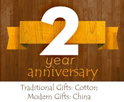 2nd anniversary traditional gift gift ideas to celebrate a second wedding anniversary