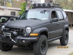 lifted jeep liberty blue jeep liberty lifted image 94