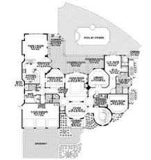 southwestern home plans floor plan of colonial luxury house plan 87644 nesting