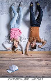 Exercise Upside Down Chair Man Upside Down Stock Images Royalty Free Images U0026 Vectors