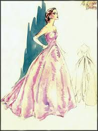 vintage fashion drawings vintage fashion design sketches