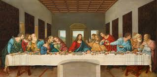 the last supper painting by giovanni rapiti