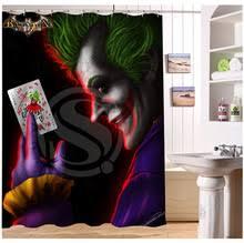 Harley Shower Curtain Joker Shower Curtain Promotion Shop For Promotional Joker Shower