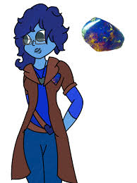 blue opal gemsona blue amber gemsona by thedoctorsgirl99 on deviantart