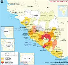 west africa map ebola map of ebola affected countries and areas