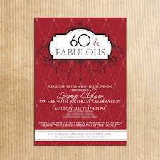 invitations for 60 birthday party stephenanuno com