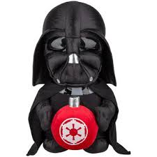 wars greeter darth vader with ornament