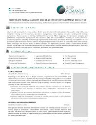 resume for team leader position in bpo resume of julie mcmanus leadership and sustainability executive