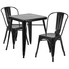 White Metal Chairs Outdoor 23 75