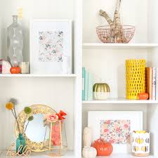 stores like anthropologie home style it peach yellow and copper fall shelves a kailo chic life